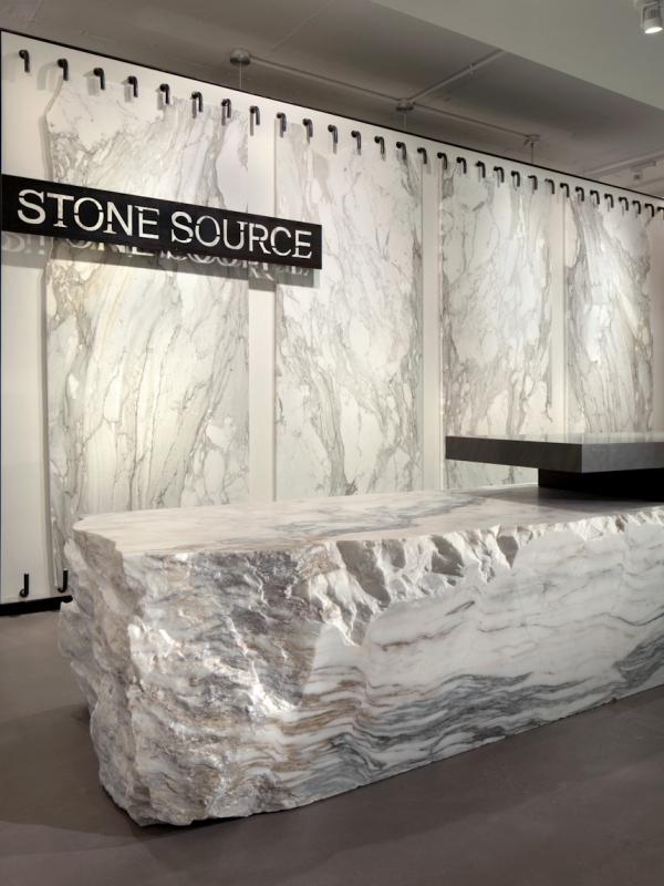 Washington dc showroom stone source for Granite desk top design