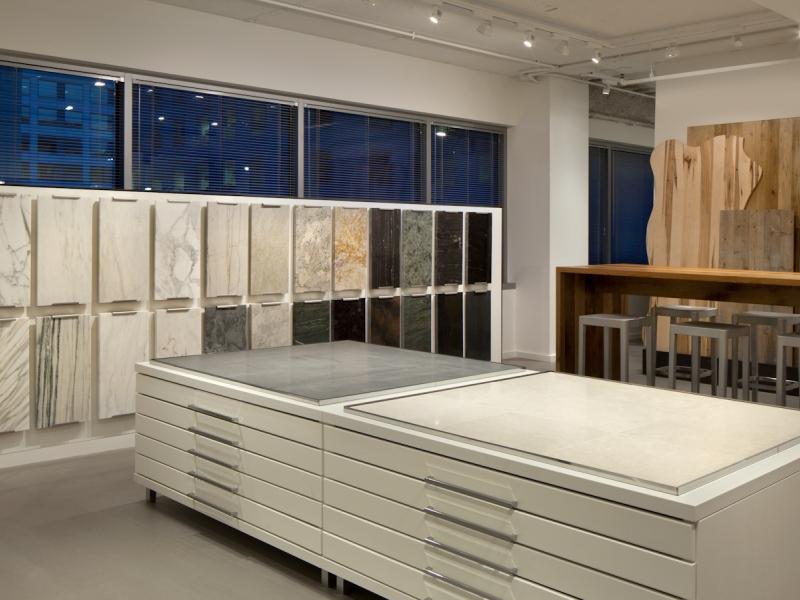 Washington dc showroom stone source for Showroom flooring ideas
