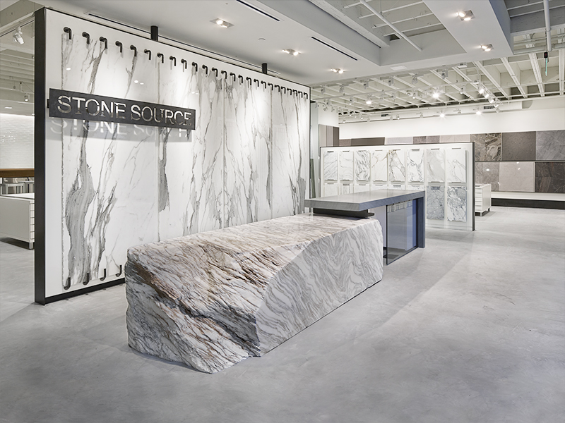 los angeles showroom stone source. Black Bedroom Furniture Sets. Home Design Ideas