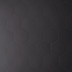 Phenomenon Nero Hex Porcelain Tile