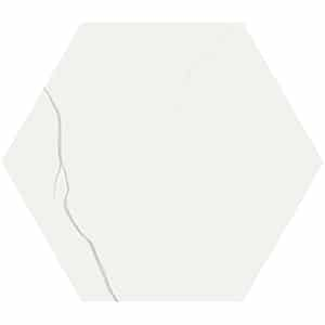 Mate-by-41zero42-Marmo-Bianco-Hexagon-Porcelain-Tile