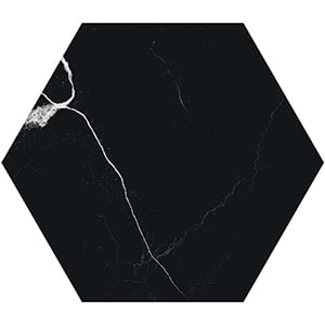Mate-by-41zero42-Marmo-Nero-Hexagon-Porcelain-Tile