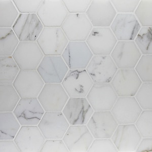 Calacatta-Polished-2-x-2-Hexagon-Mosaic1