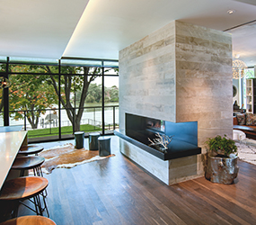 Featured Project - Wisconsin Modern Riverfront Home