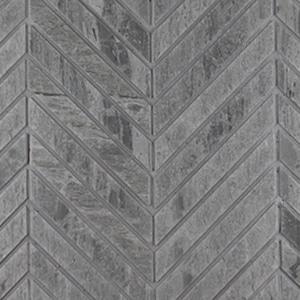 Pelle-Grigio-Honed-Chevron-Mosaic-Marble