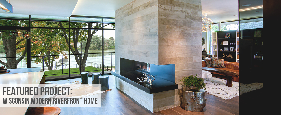 Featured project wisconsin modern riverfront home stone source