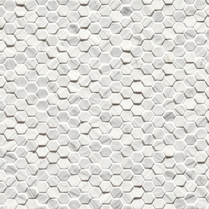 Marmi Classico - Carrara - Esagonetta - Porcelain Tile