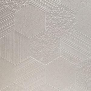 Otto-Esagona-Bianco-Mix-Porcelain-Tile