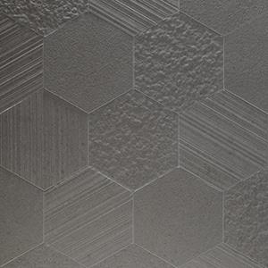 Otto-Esagona-Fango-Mix-Porcelain-Tile