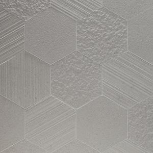 Otto-Esagona-Grigio-Mix-Porcelain-Tile