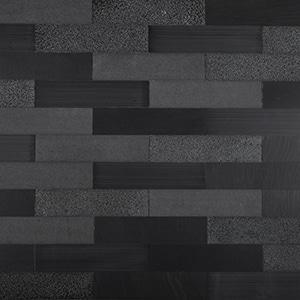 Briques - Black - Natural Stone