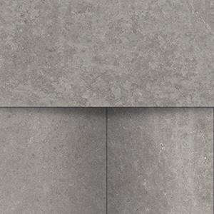 Groove - Bright Grey - Mosaico Steps - Porcelain Tile