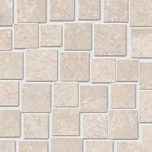 Groove - Hot White - Mosaico Penta - Porcelain Tile