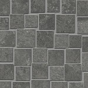Groove - Mystique Black - Mosaico Penta - Porcelain Tile