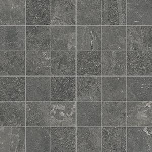 Groove - Mystique Black - Mosaico - Porcelain Tile