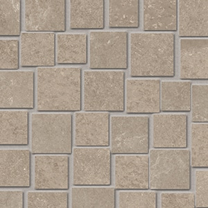 Groove - Nude Beige - Mosaico Penta - Porcelain Tile