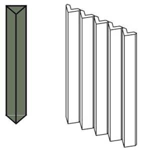 Rombini-Triangle-Small-Green-Porcelain-Tile