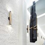 5 Franklin Lobby Lisa Fairstein Black + Steel Studio Simena Chiseled