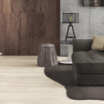 Tavole Di Legno 2.0 - Floor: White Oak, Wall:Dark Walnut