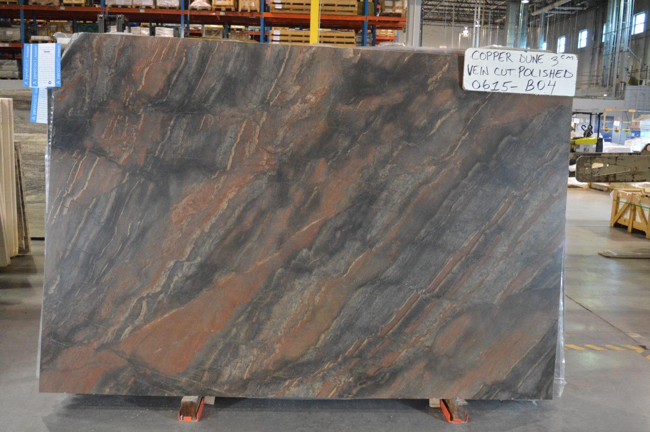 Copper Dune Vein Cut Stone Source